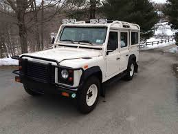 new land rover defender 110 1993 land rover defender 110 for sale classiccars com cc 940028