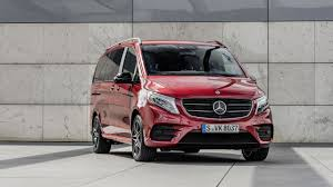 mercedes v class limited and rise editions spice up the posh mpv