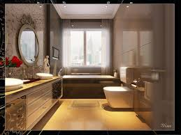 super small bathroom ideas cabinets and wallpaper behind glass splashback tv over bath