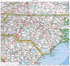 Map Of Charleston South Carolina Historic Roads Trails Paths Migration Routes Virginia