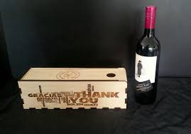 wine bottle gift box wine gift box obrary