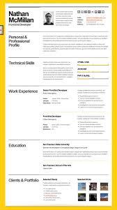 resume html template cv resume template html bold cv 14 jobsxs