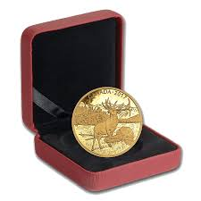 majestic deer canada 2017 gold coin royal canadian mint