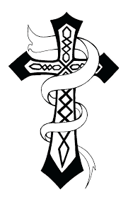 coloring page cross cross coloring pages free to print free