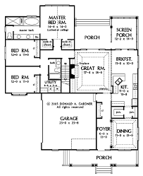master up floor plans country style house plan 3 beds 2 baths 1931 sq ft plan 929 786