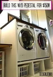 Build Washer Dryer Pedestal Washer And Dryer Pedestal Surround Tutorial U2013 Design Jenny