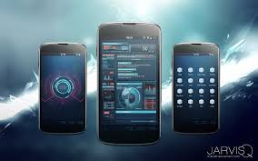android theme ironman jarvisq theme for android by thenbt on deviantart
