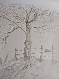 beautiful pencil drawings pencil sketches of nature landscapes