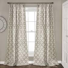 geo trellis window curtain panel set lush décor www lushdecor com