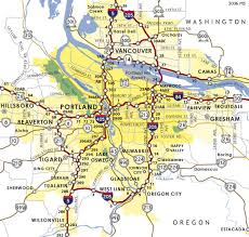 map of oregon freeways portland aaroads