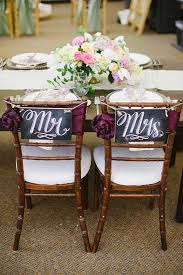 Wedding Chair Signs Best 25 Mr Mrs Sign Ideas On Pinterest Burlap Wedding
