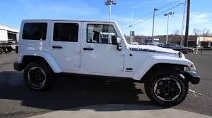 jeep arctic blue 2014 jeep wrangler unlimited polar edition white el180899 mt
