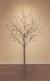 8ft lighted artificial tree 8 branches with 400 warm white led