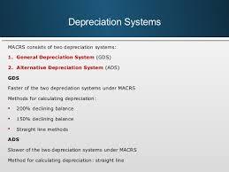 Ads Depreciation Table Bit 3 Session 19