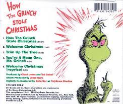 how the grinch stole original soundtrack boris