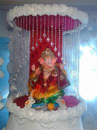 hindu decorations for home ganpati decoration decoration for pooja