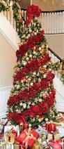 Pics Of Decorated Christmas Trees How To Criss Cross Ribbons On A Christmas Tree Ribbons