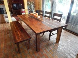 harvest dining room tables dawn u0027s reclaimed wood farmhouse dining table fama creations