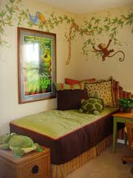 fresque chambre enfant design interieur fresque murale chambre enfant theme jungle single