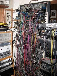 Messy Wires by Is It Okay For Studio Cables And Power Suppy Cables To
