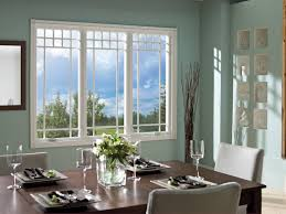lovely windows house design with rectangular shape window and
