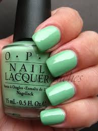 opi mint green nail polish luuux emerald pinterest mint