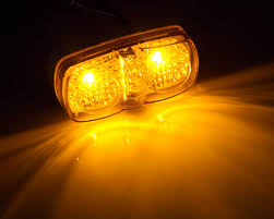 led side marker lights for trucks rectangular led truck and trailer lights 4 pc rated led side