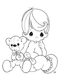 baby coloring pages kids coloring pages