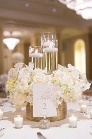 Ideas For Centerpieces For Wedding Reception Tables by Best 25 White Wedding Receptions Ideas On Pinterest Candlelight
