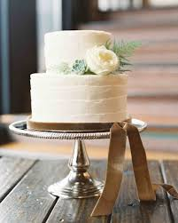 small wedding cakes 23 festive winter wedding cakes martha stewart weddings