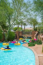 Backyard Pool With Lazy River by Chill Out At The Westin Kierland Family Staycation Yay Baby