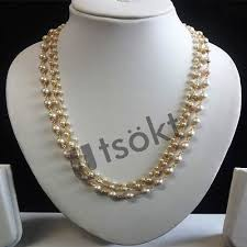 jewellery pearl necklace images Pearl jewellery striking moti jadai and jali moti ball necklace jpg
