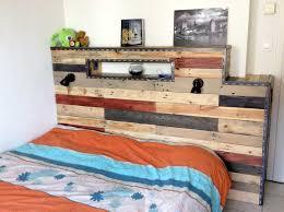 chambre palette chambre en palette de bois gg galerie et lit palette de bois photo