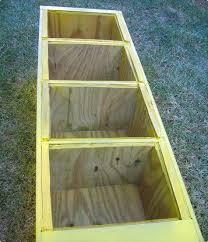 repurpose metal file cabinet before after chad s filing cabinet planter design sponge