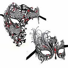 black and silver masquerade masks party masks mask black gold silver skeleton men