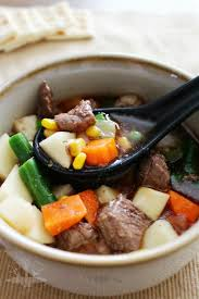 healthy vegetable beef soup domestically creative