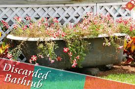 Bathtub Planter 16 Unusual But Adept Alternatives For Traditional Garden Planters