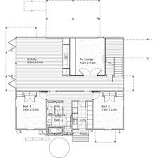 modern style house plan 4 beds 3 50 baths 3209 sq ft plan 496