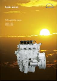 man industrial gas engine e0836 service repair manual