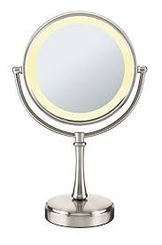 conair two sided makeup mirror with 4 light settings amazon com conair 3 way touch control double sided lighted makeup