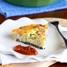 southwestern crustless quiche recipe with black beans