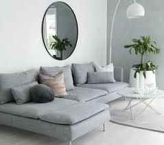 canape gris et blanc déco salon gris 88 idées pleines de charme