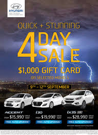 quick stunning 4 day sale is on now at dvg hyundai