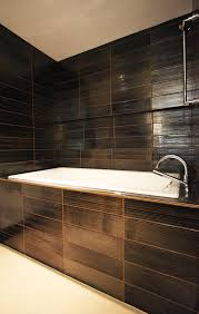 dark bathroom ideas best brown bathroom tile contemporary home decorating ideas