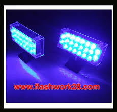 2 x 22 blue led lights
