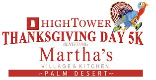 martha s kitchen thanksgiving day 5k run walk palm