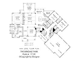 Main Level Floor Plans Birkdale Park House Plan House Plans By Garrell Associates Inc