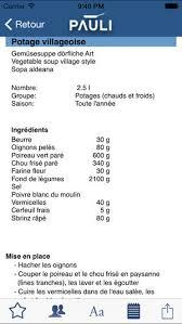 la cuisine du web pauli bases de la cuisine on the app store