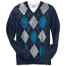 navy sweaters navy s argyle vneck sweaters polyvore