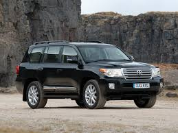 suv jeep black toyota land cruiser tlc 200 car auto wallpapers v8 uk spec japan